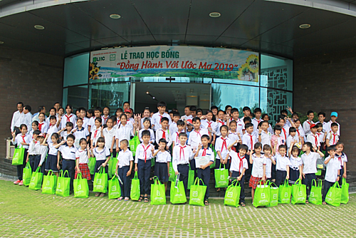 Công ty CP Long Hậu tích cực triển khai và tham gia các hoạt động vì cộng đồng