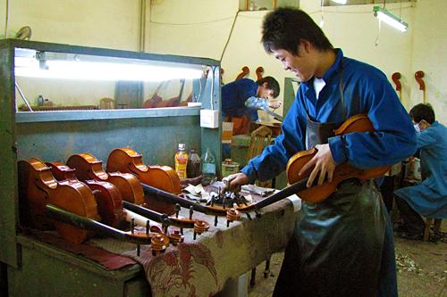 Bên trong xưởng sản xuất của Eastman tại Trung Quốc. Ảnh: Eastman