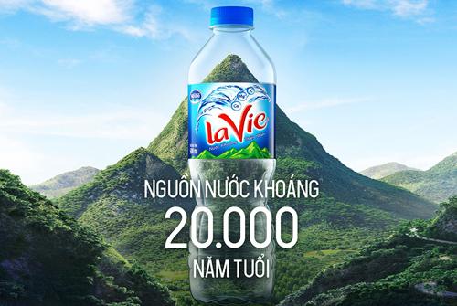 Nguồn nước ngầm sản xuất La Vie có hơn 20.000 năm.