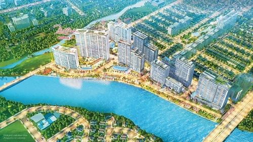 Tận dụng vị trí nằm gần sông và công viên hoa anh đào nhất của tòa nhà A, thiên nhiên trở thành từ khóa chính được chủ đầu tư và đội ngũ kiến trúc sư đặc biệt chú trọng trong dự án này. Theo đó, thiên nhiên sẽ len lỏi từ phía trước tòa nhà, đến sảnh, các khu vực tiện ích và trên tầng mái. Cụ thể, mặt trong của tòa nhà kế cận quảng trường đô thị rộng 4.200m2. Việc đưa quảng trường đô thị vào khuôn viên dự án dựa trên cảm hứng từ những không gian cộng đồng