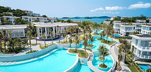 Sun Group đang đầu tư quần thể du lịch, giải trí tỷ đô tại Nam Phú Quốc (Ảnh: Khu nghỉ dưỡng Premier Village Phu Quoc Resort)