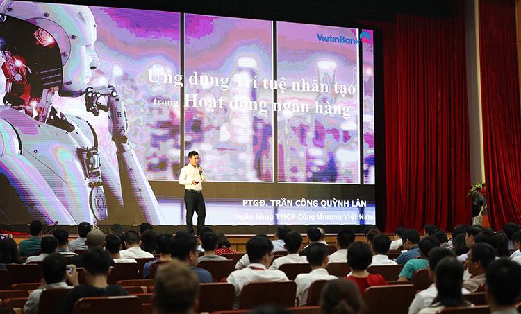 Ông Trần Công Quỳnh Lân tại sự kiện.