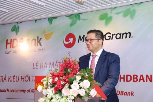 Ông Yogesh Sangle, Giám đốc khu vực châu Á Thái Bình Dương và Nam Á của MoneyGram