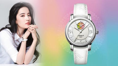 Đồng hồ Tissot Lady Heart Flower Powermatic 80.
