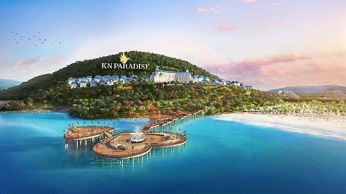 Khu Hill Resort 6 sao và Cầu Tình Yêu tại dự án KN Paradise.