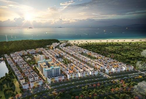 Từ khu đô thị du khách dễ dàng di chuyển tới các khu vui chơi trên biển, cáp treo Hòn Thơm... tại Nam Đảo