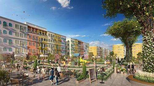 Các căn nhà phố tại Sun Grand City New An Thoi phù hợp ở và kinh doanh.
