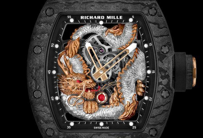 Con rồng phương Đông được Richard Mille tái hiện trên RM 57-03.