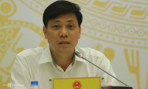 Ông Nguyễn Ngọc Đông - Thứ trưởng Giao thông & Vận tải. Ảnh: Võ Hải