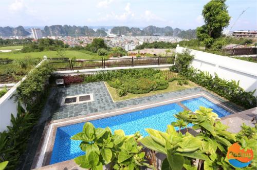Bể bơi riêng tại các villa nghỉ dưỡng trong hệ thống Paday Villa.