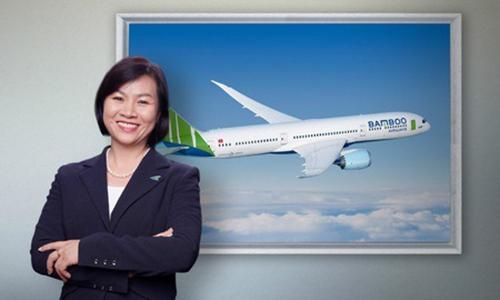 Bà Dương Thị Mai Hoa khi còn làm việc tại Bamboo Airways. Ảnh: Bamboo Airways