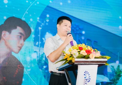 Ông Nguyễn Tiến Dũng, đại diện công ty phát biểu tại sự kiện.