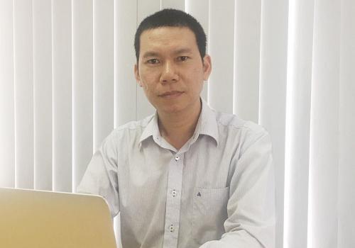 Ông Vũ Văn Anh, sáng lập Biz Time kỳ vọng tạo ra mạng xã hội dành cho người Việt với thông tin sạch, bảo mật bằng blockchain.