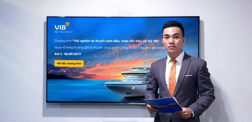Khách mở thẻ tín dụng VIB trúng chuyến du lịch châu Á