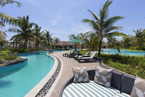 Khách sạn TUI BLUE Nam Hội An bao gồm 318 phòng, tọa lạc bên bãi biển Tam Tiến thơ mộng thuộc khu vực miền Trung Việt Nam. Ảnh: TuiGroup