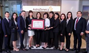 AstraZeneca Việt Nam nhận bằng khen của Bộ Y tế