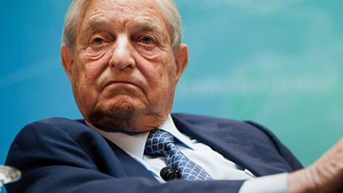Tỷ phú đầu tư MỹGeorge Soros. Ảnh: AFP