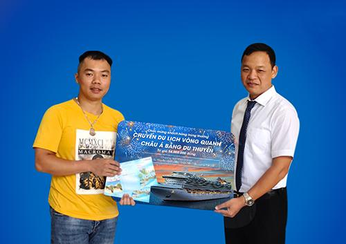 Anh Nguyễn Công Hùng nhận giải đặc biệt của chương trình.