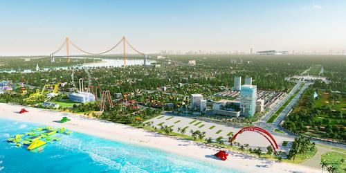 Cua Lo Beach Villa nằm trong khu quần thể giải trí lớn nhất Cửa Lò.