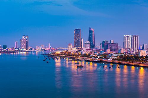 Khu vực Đông Nam thành phố Đà Nẵng.