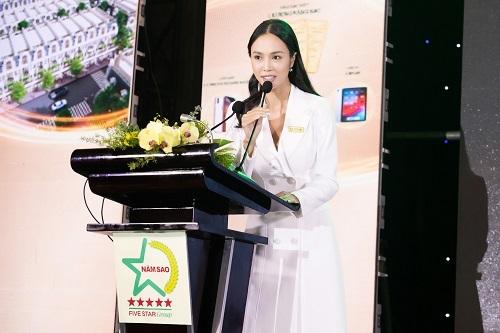 bà Vũ Ngọc Anh - đại diện chủ đầu tư
