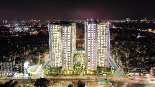Dự án Imperia Sky Garden tọa lạc tại 423 Minh Khai, Hai Bà Trưng, Hà Nội.