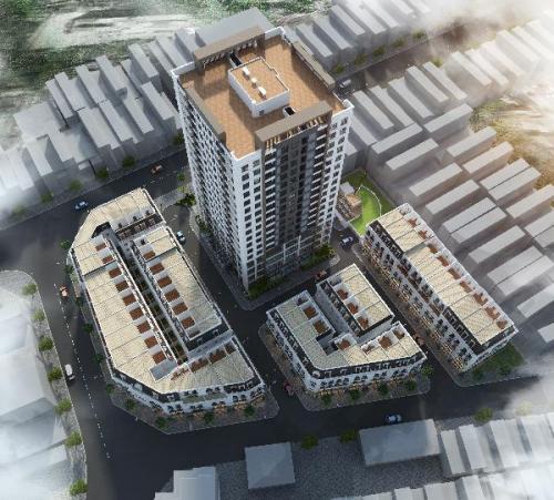 PHC Complexcó mật độ xây dựng thấp, với đa phần diện tích xây dựngthấp tầng. Dự án do Công ty TNHH Bắc Chương Dương (số 379, ngõ 2 đường Nguyễn Văn Cừ, phường Bồ Đề, quận Long Biên, Hà Nội) đầu tư và phát triển.