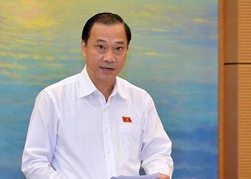 Ông Vũ Hồng Thanh - Chủ nhiệm Uỷ ban Kinh tế. Ảnh: Trung tâm báo chí Quốc hội