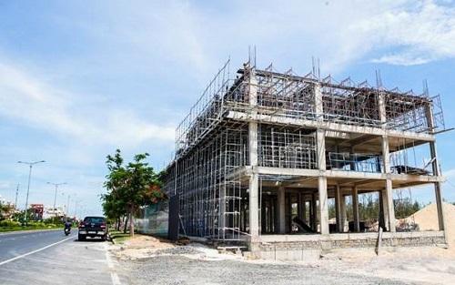 Một góc block A, La Maison Premium, dự kiến sẽ cất nóc vào cuối tháng 9/2019.