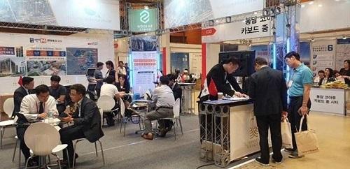 Nhiều đơn vị bất động sản Hàn Quốc và quan khách,nhà đầu tư quốc tế có mặt tại sự kiện.