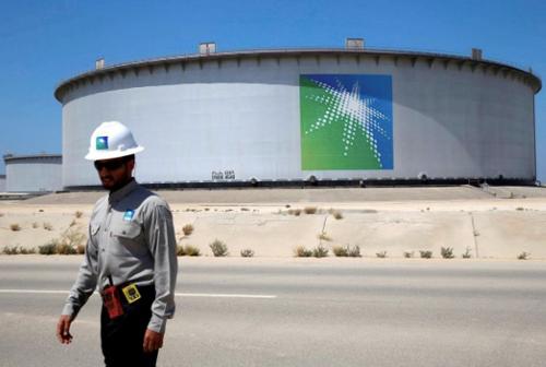 Một cơ sở sản xuất dầu của Saudi Aramco tại Saudi Arabia. Ảnh: Reuters.