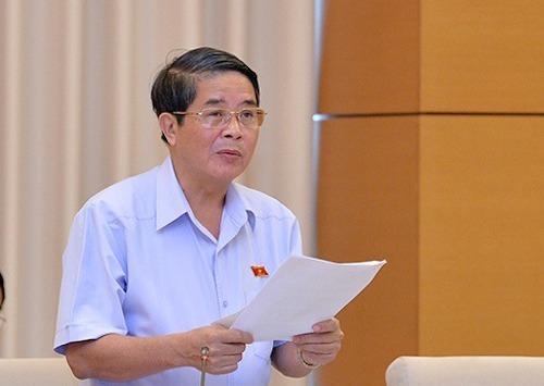Ông Nguyễn Đức Hải - Chủ nhiệm Uỷ ban Tài chính ngân sách Quốc hội. Ảnh: Trung tâm báo chí Quốc hội