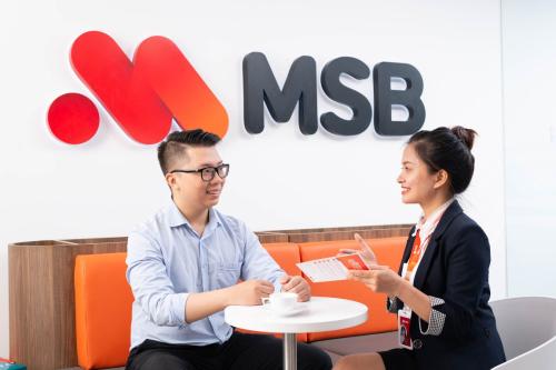 MSB đặt trọng tâm vào nhóm khách hàng cá nhân và doanh nghiệp nhỏ.