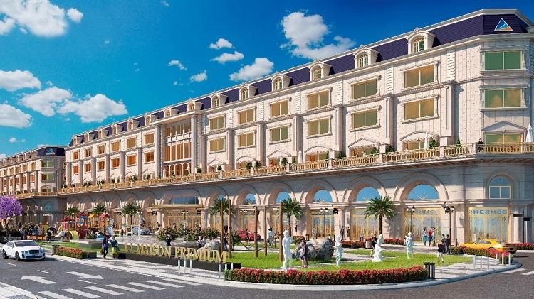 Phối cảnh khu La Maison Premium Boutique Hotel