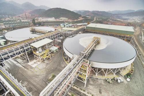 Dây chuyền nhà máy hiện đại của Masan Resources.