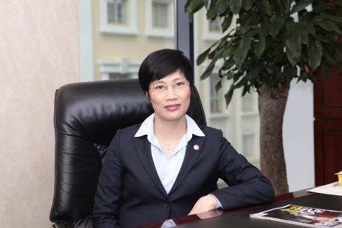 Bà Nguyễn Thị Thanh Hường, quyền tổng giám đốc mới của BaoViet Bank. Ảnh: BaoViet Bank.