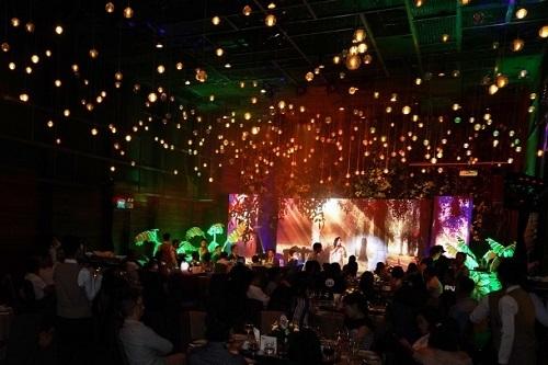 tiệc thu hút hàng trăm khách hàng thân thiết của Interimm và Interhome
