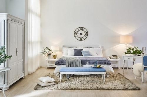 Mẫu nội thất phòng ngủ thuộc bộ sưu tậpVictoria do Nhà Xinh phân phối. hướng đến sự trẻ trung, năng động, tạo cảm giác thoải mái cho người sử dụng.