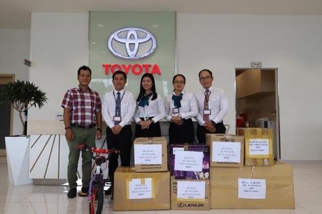 Toyota Hiroshima Tân Cảng tham gia ủng hộ Mottainai 2019.