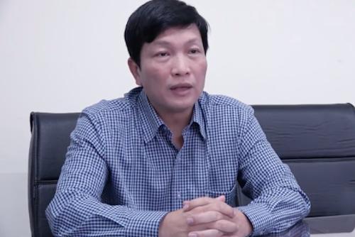 Ông Đặng Văn Sơn - Phó chủ tịch, Tổng thư ký Hiệp hội Giấy, Bột giấy Việt Nam. Ảnh: Ngọc Hà.