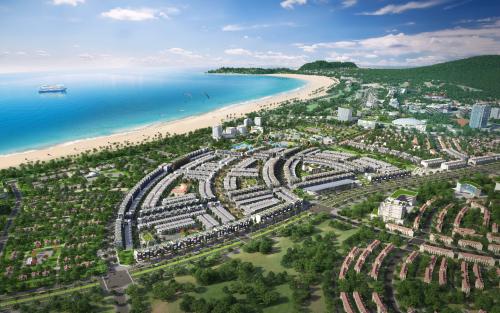 Dự án Nhơn Hội New City sở hữu vị trí liền kề bãi biển Quy Nhơn thanh bình