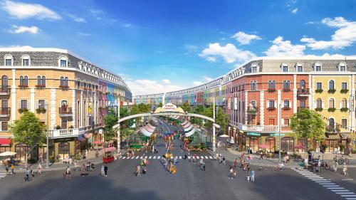 Phối cảnh dự án Nhơn Hội New City.