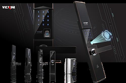 Khoá điện tử Vickini - vân tay công nghệ bán dẫn Nhật Bản