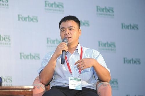 Chủ tịch Seedcom Đinh Anh Huân. Ảnh: Forbes Việt Nam