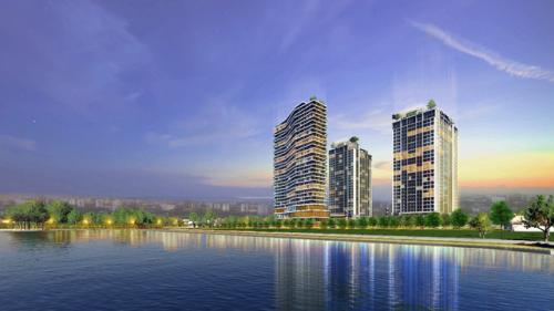 Căn hộ chung cư cao cấp Apec Aqua Park Bắc Giang giá từ 700 triệu đồng - 1