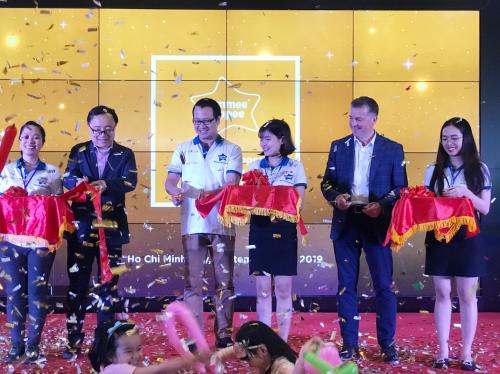 Sự kiện ra mắt thương hiệu Tommee Tippee tại Việt Nam vừa được tổ chức tại trung tâm thương mại Aeon Mall Tân Phú.