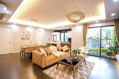 Một căn hộ tạiImperia Sky Garden.