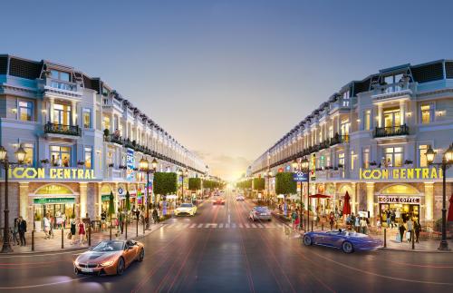 Icon Central đáp ứng nhu cầu mua nhà phố thương mại tại Dĩ An