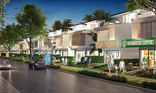 Phân khu đầu tiên Premier Village với 169 căn biệt thự thương mại và biệt thự cạnh công viên (shop villavà park villa) dự kiến bàn giao vào quý IV/2020.