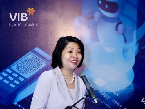 Bà Winnie Wong - Giám đốc phụ trách thị trường Đông Dương của MasterCard.